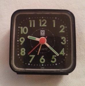 Sarah L. - Alarm clock